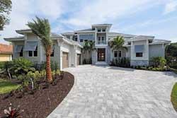 Florida Style House Plans Plan: 82-125