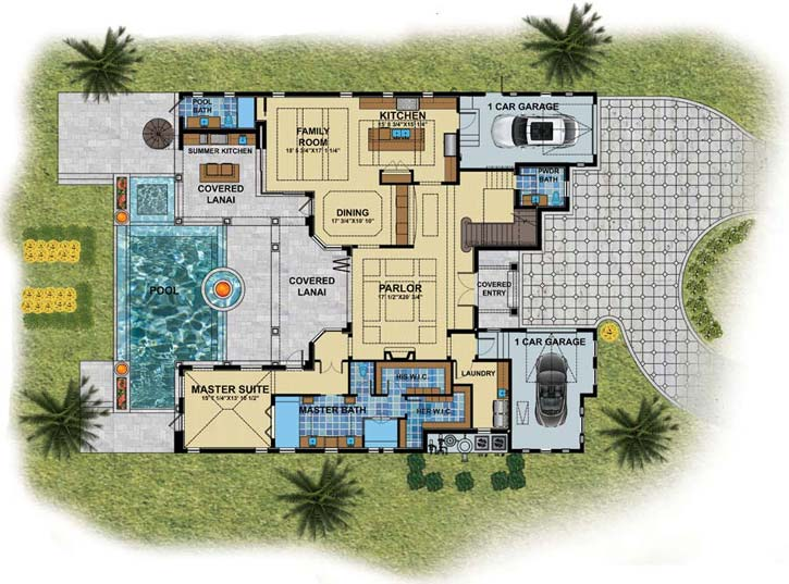 Main Floor Plan: 82-126