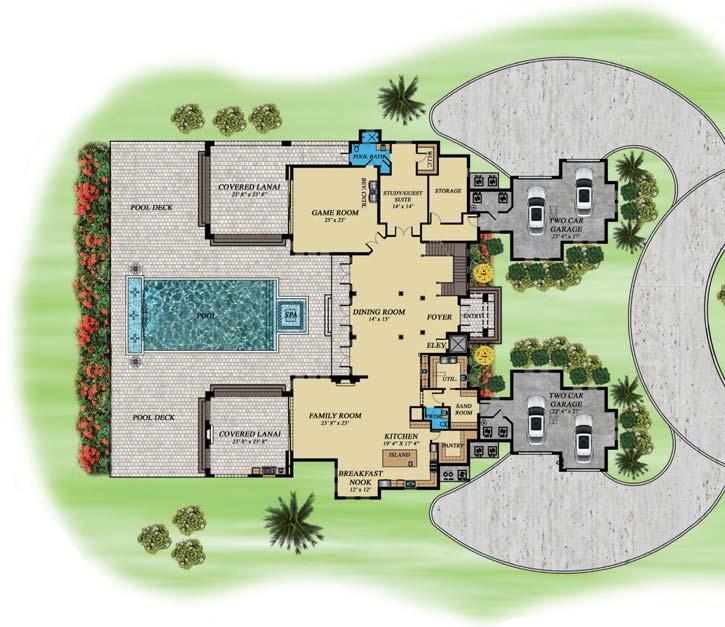 Main Floor Plan: 82-128