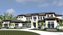 Sunbelt Style Floor Plans Plan: 82-128