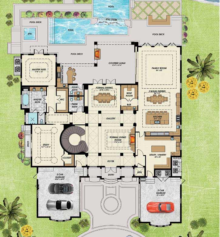 Main Floor Plan: 82-130