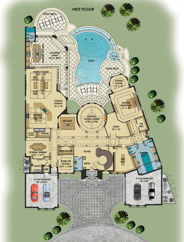 Main Floor Plan: 82-132