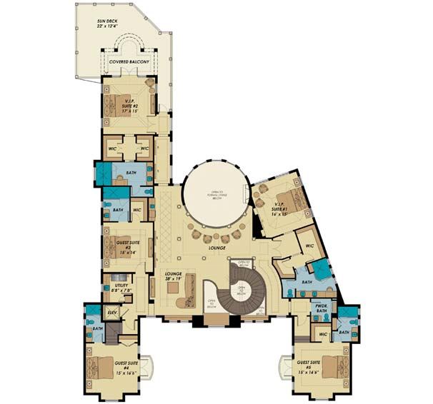 Upper/Second Floor Plan: 82-132
