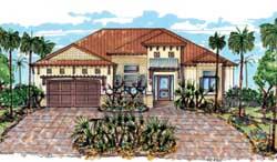 Sunbelt Style House Plans Plan: 82-136