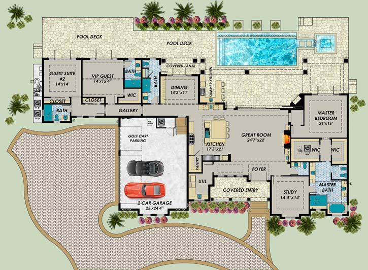 Main Floor Plan: 82-137