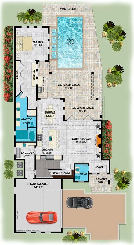 Main Floor Plan: 82-139
