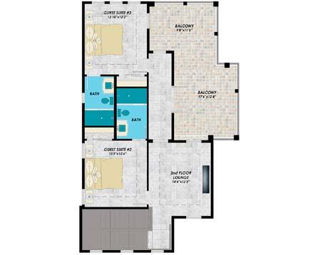 Upper/Second Floor Plan: 82-139