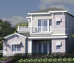 Coastal Style Floor Plans Plan: 82-141