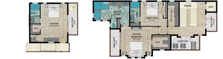 Upper/Second Floor Plan: 82-141
