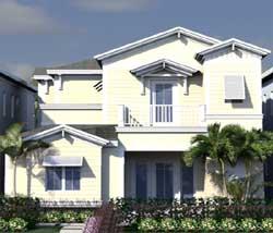 Florida Style House Plans Plan: 82-142