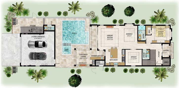 Main Floor Plan: 82-143