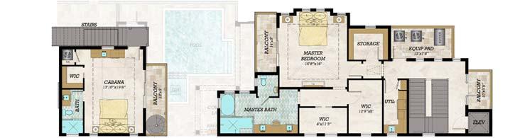 Upper/Second Floor Plan: 82-143