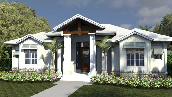 Florida Style Floor Plans 82-145