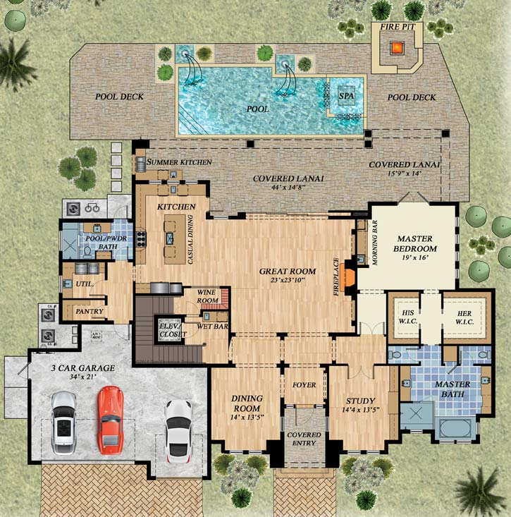 Main Floor Plan: 82-146