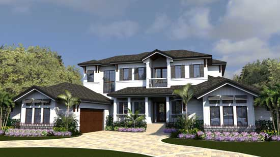 Florida Style Floor Plans 82-148