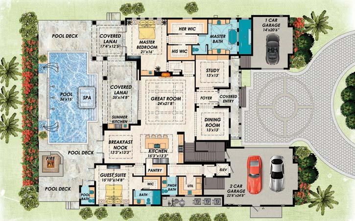 Main Floor Plan: 82-148