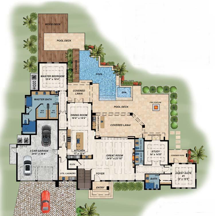 Main Floor Plan: 82-149