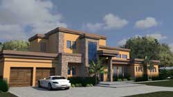 Modern Style House Plans Plan: 82-149