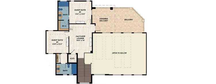 Upper/Second Floor Plan: 82-149