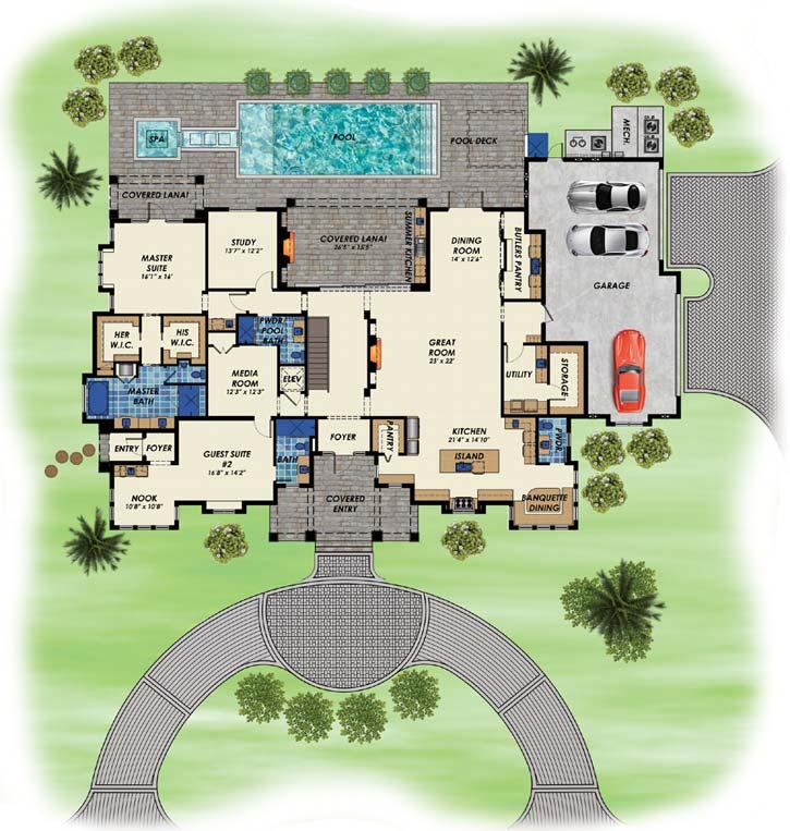 Main Floor Plan: 82-151