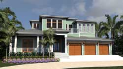 Traditional Style Floor Plans Plan: 82-154
