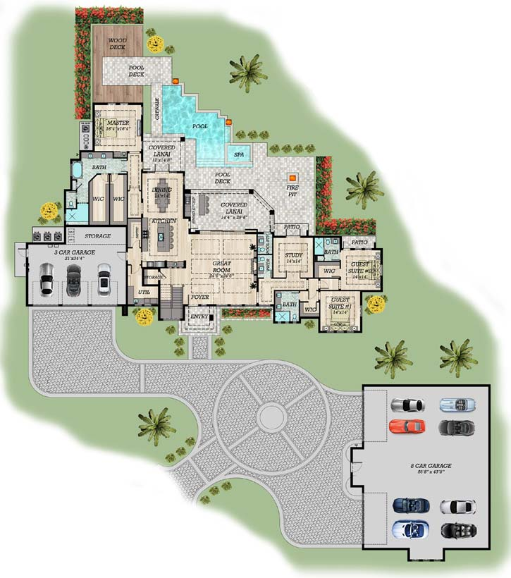 Main Floor Plan: 82-155