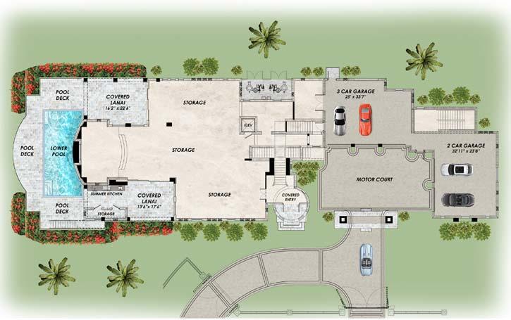 Main Floor Plan: 82-157
