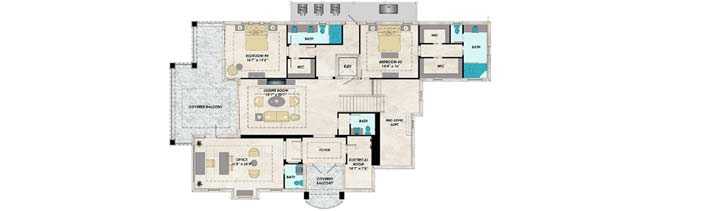 Third Floor Plan:82-157