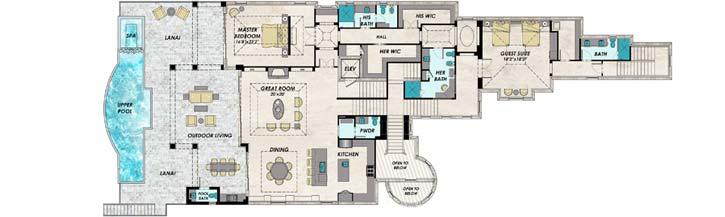 Upper/Second Floor Plan:82-157