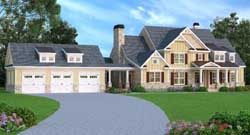 Southern Style Floor Plans 84-188