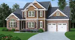 Traditional Style Floor Plans Plan: 84-205