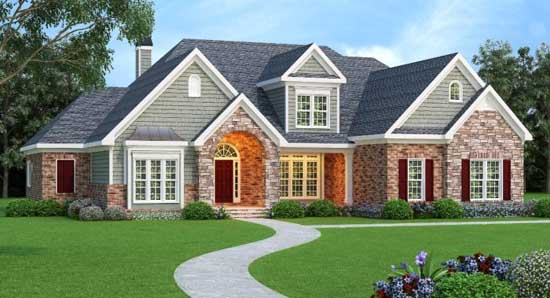 Southern Style Floor Plans 84-210