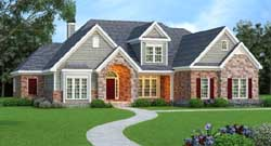 Southern Style House Plans 84-210