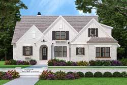 Modern-Farmhouse Style House Plans Plan: 85-1059