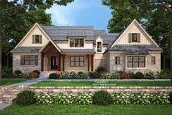 Modern-Farmhouse Style Floor Plans Plan: 85-1060