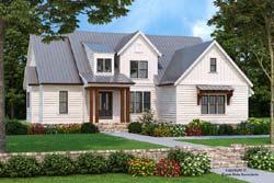 Modern-Farmhouse Style Floor Plans Plan: 85-1063