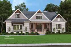 Modern-Farmhouse Style Floor Plans Plan: 85-1070