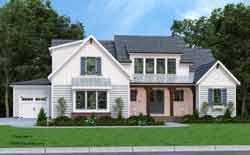 Modern-Farmhouse Style Floor Plans Plan: 85-1071