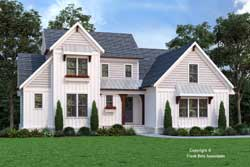 Modern-Farmhouse Style Floor Plans Plan: 85-1073
