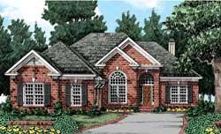 European Style House Plans Plan: 85-113