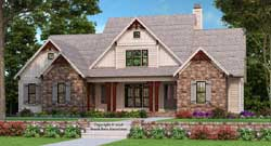 Modern-Farmhouse Style Floor Plans Plan: 85-127