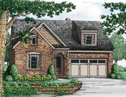 Bungalow Style House Plans Plan: 85-132