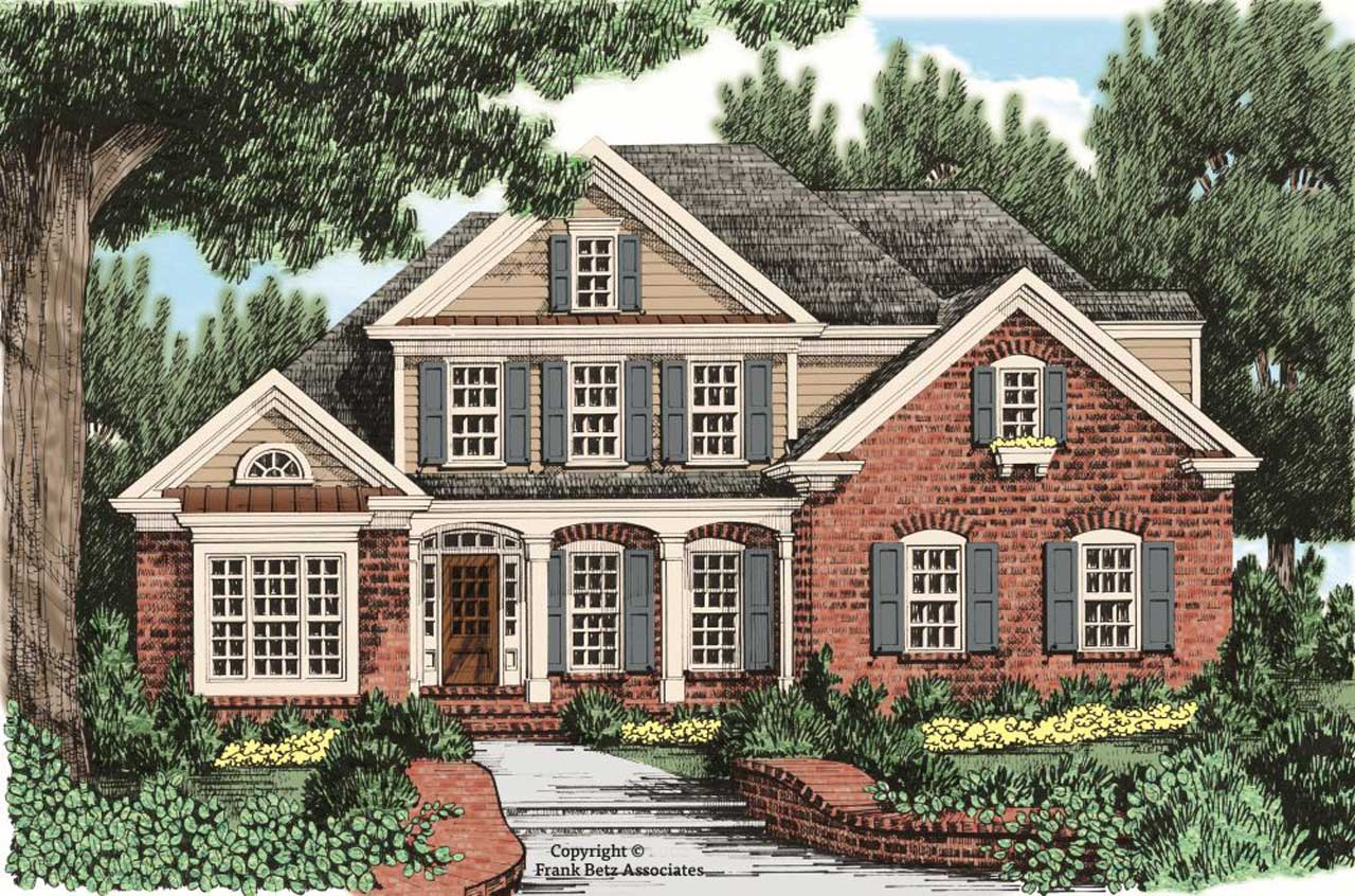Southern Style Floor Plans Plan: 85-133