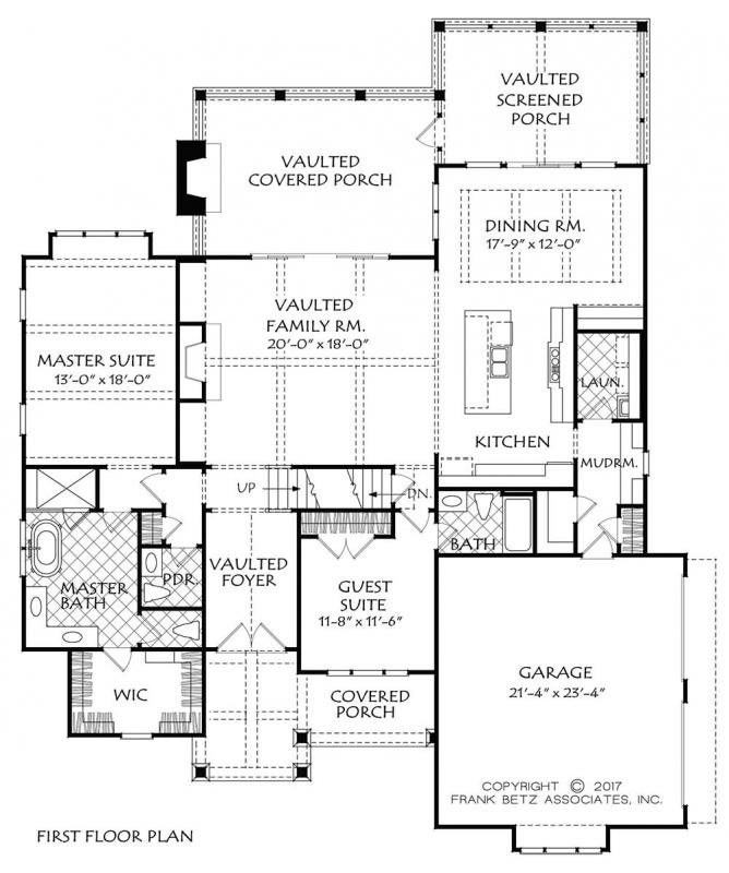 Main Floor Plan: 85-136