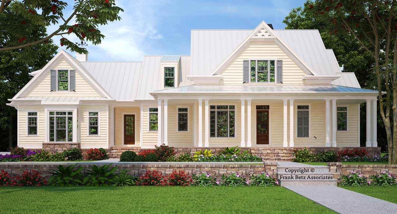 Modern-farmhouse Style House Plans Plan: 85-148