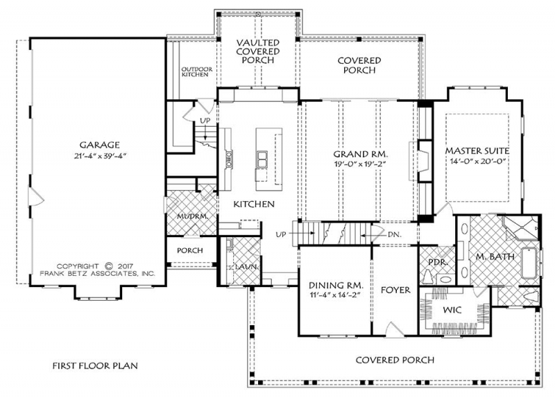 Main Floor Plan: 85-148