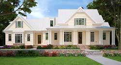Modern-Farmhouse Style Home Design 85-148