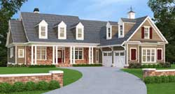 Country Style Home Design Plan: 85-149