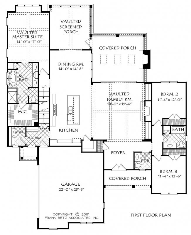 Main Floor Plan: 85-159