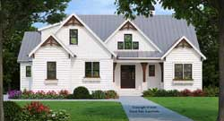 Modern-Farmhouse Style House Plans Plan: 85-159